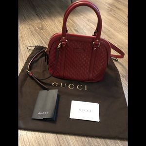 Gucci microguccissima mini dome crossbody bag